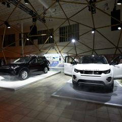 Landrover Discovery Tour 2014 Antwerp
