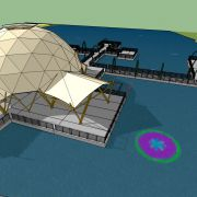 Floating 20m Dome